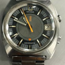 Omega Memomatic Steel 40mm Grey No numerals United States of America, New Jersey, Upper Saddle River