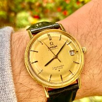 Omega Seamaster DeVille Yellow gold 34mm Gold No numerals United States of America, Florida, Pembroke Pines