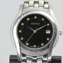 Gucci Steel 35mm Quartz 5500M pre-owned