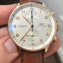IWC Portuguese Chronograph Pозовое золото Cеребро Aрабские Россия, Moscow