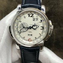 Ulysse Nardin GMT +/- Perpetual White gold 42mm Silver Arabic numerals United States of America, New York, New York