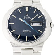Omega Genève Steel 41mm Blue No numerals United States of America, Utah, Draper