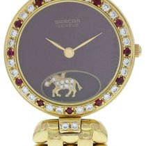 Sarcar Yellow gold 24mm Quartz pre-owned United States of America, New York, New York