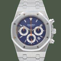 Audemars Piguet Royal Oak Chronograph Acciaio 39mm Blu Senza numeri Italia, Terni