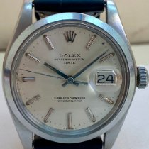 Rolex Oyster Perpetual Date Steel 34mm Silver India, Mumbai