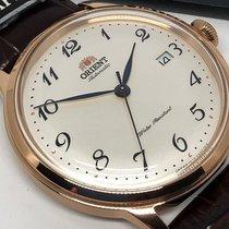Orient Bambino Steel 40mm White Arabic numerals
