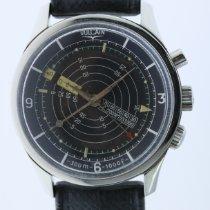 Vulcain Nautical Steel 41,5mm Black Arabic numerals