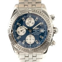 Breitling Chronomat Evolution Steel 43mm Blue