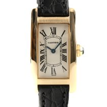 Cartier Tank Américaine Or jaune 27.5mm