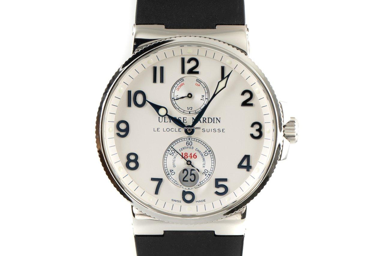 Ulysse Nardin Marine Chronometer 41mm 263-66 2002 подержанные
