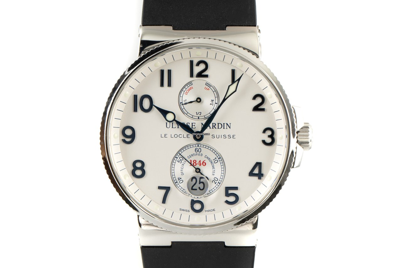 Ulysse Nardin Marine Chronometer 41mm 263-66 2002 pre-owned