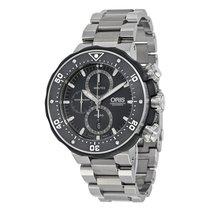 Oris ProDiver Chronograph new 2021 Automatic Chronograph Watch with original box and original papers 01 774 7683 7154-Set