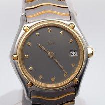 Ebel Classic Gold/Steel 27mm Grey No numerals