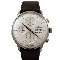 Junghans Meister Chronoscope Steel 40,7mm Silver No numerals