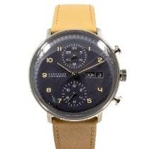 Junghans max bill Chronoscope nowość 2020 Automatyczny Chronograf Zegarek z oryginalnym pudełkiem i oryginalnymi dokumentami 027/4501.04
