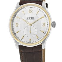 Oris Artelier Small Second Gold/Steel Silver United States of America, New York, New York