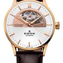 Edox Les Vauberts Steel 43mm White