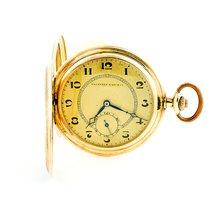 Tavannes Gelbgold 50mm Handaufzug gebraucht