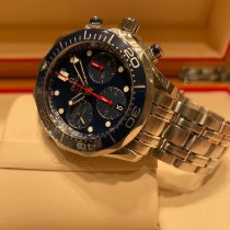 Omega Seamaster Diver 300 M Steel 41.5mm Blue No numerals