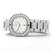 Clerc Steel Automatic CLERC Ladies Octagonal Watch, SS w/ Diamonds & Interchangeable Straps pre-owned United States of America, New York, New York