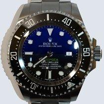 Rolex Acero Automático Azul Sin cifras 44mm usados Sea-Dweller Deepsea