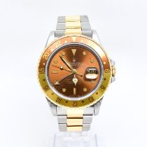 Rolex GMT-Master II Gold/Steel 40mm Brown No numerals United Kingdom, Watford