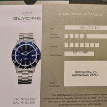 Glycine nuevo Automático Índices luminosos Revestimiento PVD/DLC 46mm Acero Cristal de zafiro