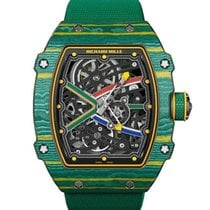 Richard Mille new Automatic 38.7mm Carbon Sapphire crystal