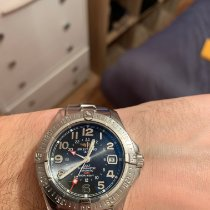 Breitling Colt GMT Steel Black Arabic numerals