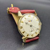 Benrus Gelbgold 29.3mm Handaufzug Modelo DN 411 gebraucht