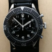Heuer Steel Black Arabic numerals
