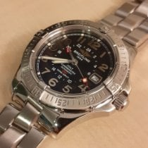 Breitling Colt GMT Steel 42mm Black Arabic numerals