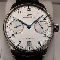 IWC Portuguese Automatic Stål 42.3mm Silver Arabiska