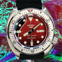 Seiko Prospex Steel 45mm Red No numerals United States of America, New York, Troy