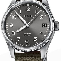 Oris Big Crown ProPilot Date 01 751 7761 4063-07 3 20 03LC New Steel 41mm Automatic