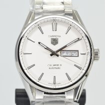 TAG Heuer Carrera Calibre 5 Steel 41mm Silver No numerals United States of America, California, Stockton