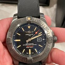 Breitling Avenger Blackbird Titanium 48mm Black No numerals United States of America, California, Fullerton