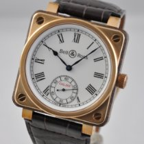 Bell & Ross BR 01 new 2020 Manual winding Watch with original box and original papers BR01-CM-203