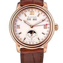 Blancpain Léman Moonphase Rose gold Silver United States of America, Florida, North Miami Beach