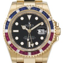 Rolex GMT-Master II Yellow gold Black United States of America, Florida, North Miami Beach