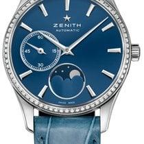 Zenith Elite Ultra Thin Steel 33mm Blue United States of America, Florida, North Miami Beach