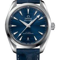 Omega Seamaster Aqua Terra neu 2020 Automatik Uhr mit Original-Box und Original-Papieren 220.13.38.20.03.001