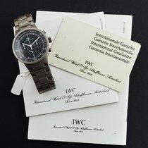 IWC GST Titan 36mm Schwarz Keine Ziffern