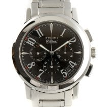 Zenith Port Royal Steel 40mm Black