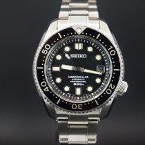 Seiko Marinemaster Steel Black No numerals