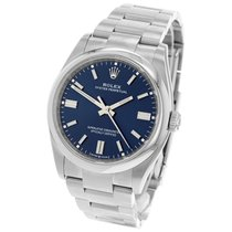 Rolex Oyster Perpetual 36 36mm Azul