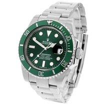Rolex Grün 40mm gebraucht Submariner Date