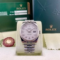Rolex Datejust Acier 36mm Nacre