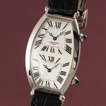 Cartier Tonneau Or blanc 43.5mm Argent