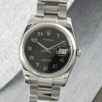 Rolex Datejust Stahl 36mm Schwarz Deutschland, Chemnitz